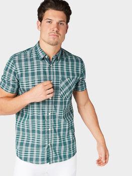 Рубашка TOM TAILOR Зеленый 1012824