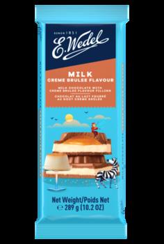 купить Молочный шоколад Wedel Creme Brulee, 289г в Кишинёве