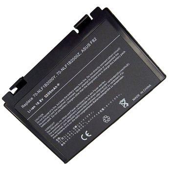 Battery Asus K40 K50 K51 K60 K61 K70 X5D A32-F52 A32-F82 10.8V 5200mAh Black OEM