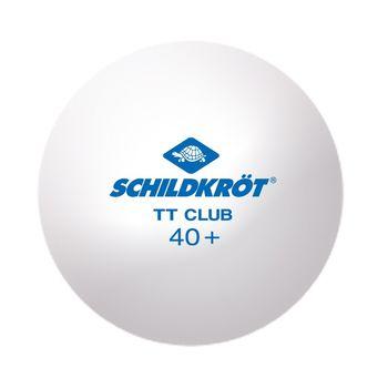 Мяч для настольного тенниса Donic Schildkrot 2-T One Poly 40+ white 608532 (3221)