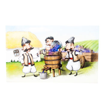 cumpără Carte Poștală – Fabricarea vinului în Chișinău