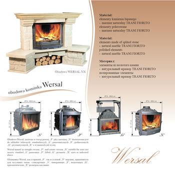 купить Каминная облицовка - Jabo Marmi WERSAL в Кишинёве
