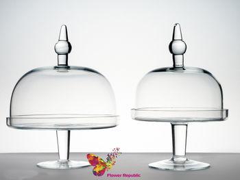 купить Стеклянное плато  D 20 H 30 cm в Кишинёве