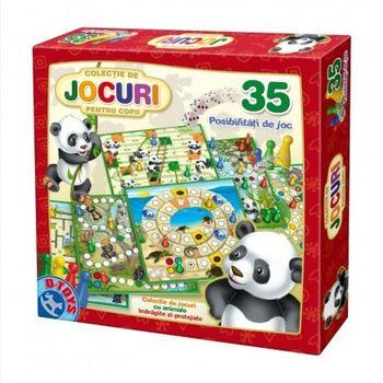 купить D-Toys Настольная игра 35 игр Животные в Кишинёве