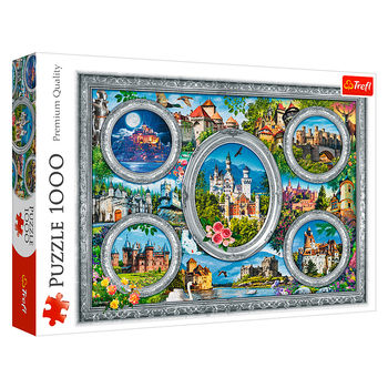 "Пазлы ""1000"" - Castles of the world, код 43107"