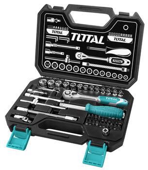 """Set de instrumente Total THT141451 (1/4"""" 45 buc)"""