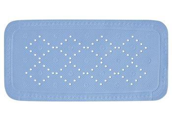 Коврик для ванны 36X91cm Alaska голубой, PVC