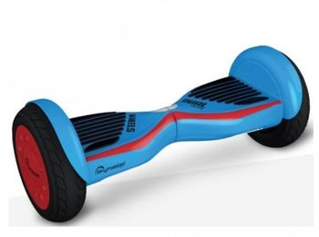 """Skymaster Wheels Dual 11 Hoverboard, Blue/Red, Wheel 10.0"""", Speeds of up to:15km/h, LG Battery capacity: up to 20km, Weight:10.8kg, Maximum load: 85kg, Power Wheels: 300W, Bluetooth (Speakers), Carry Bag, Taotao motherboard"""