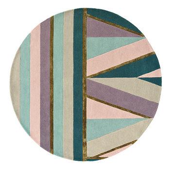 Ковёр ручной работы TED BAKER TB Sahara  - Pink  56102 ROUND 200
