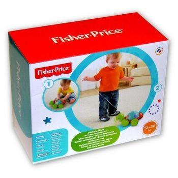 """Каталка на веревке """"Ученая черепашка"""" Fisher- Price"""