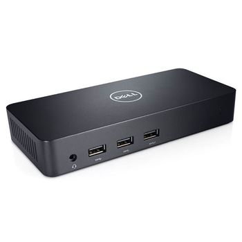 Dell USB 3.0 Ultra HD Triple Video Docking Station D3100, 2*HDMI, 1*DP, LAN, 5*USB
