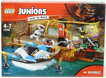 "LEGO Juniors ""Погоня на моторной лодке Зейна"", арт. 10755"