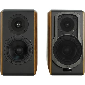 Edifier S1000DB, Hi-Fi 2.0/ 120W (2x60W) RMS, Bluetooth (aptX), Three-amping, Audio in: two digital (Optical, Coaxial) & two analog (RCA), remote control, wooden