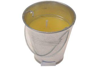 Свеча Душистая цитронелла H6.5cm, в ведерке
