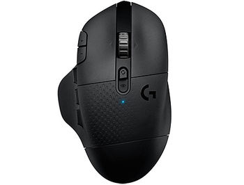 Logitech G604 Lightspeed HERO Wireless Gaming Mouse, Sensor HERO 16K, , Resolution:100–16,000 dpi, Connection: Wired/Wireless, 910-005649 (mouse/мышь)
