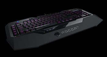 купить ROCCAT Isku FX (Black) / Multicolor Gaming Keyboard, Extra-large wrist rest, 8+3 programmable keys, Multicolor key illumination (6-level brightness), MACRO LIVE! Recording, EASY-SHIFT[+]™, USB в Кишинёве