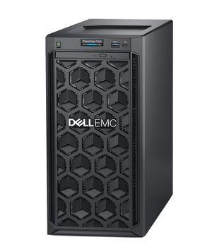"Dell PowerEdge T140 Tower, Intel Xeon E-2124 (3.3GHz, 8M Cache, 4C/4T, 71W), 8GB DDR4 UDIMM RAM, 1TB 7.2K RPM SATA HDD (up to 4 3,5"" Cabled HDD), no ODD, PERC H330 RAID, iDRAC9 Basic, Broadcom 5720 DP 1Gb, TPM 1.2, Single cabled 365W PSU"
