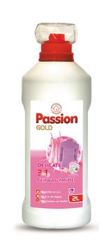 купить Жидкий порошок для стирки Passion Gold 3in1 Delicate 2л, 55 стирок в Кишинёве