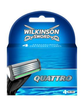 купить Сменные лезвия для бритвы Quattro, 4 шт. в Кишинёве