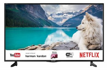 "40"" LED TV SHARP LC-40FI5122E, Black, 1920x1080 (FHD), SmartTV (Aquas NET+), Wifi+Lan, Active Motion 200, Harman Kardon, RMS 2x10W, HDMIx3, USBx2, DVB-T2/C/S2/CI+, Vesa 200x300"