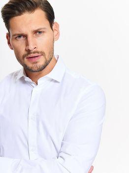 Рубашка TOP SECRET Белый SKL2458BI