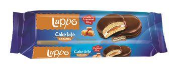"Печенье сэндвич ""Luppo Cake Bite Caramel"" 182г"