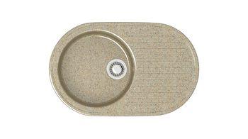 купить Глянцевые каменные мойки (Песочный) Z011Q5 в Кишинёве