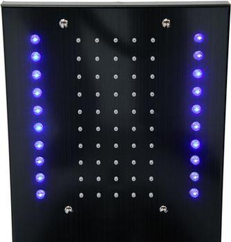 cumpără 75982 Panou de duș STEELY 3(titan negru) în Chișinău