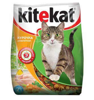 cumpără Kitekat Аппетитная курочка 1 kg  (Сухой корм для взрослых кошек) în Chișinău