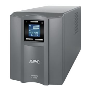 APC Smart-UPS SMC1000I-RS 1000VA/600 Watts, LCD status console, Input/Output 230V, Interface Port USB, Line Interactive