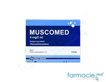 купить Muscomed sol. inj. 4 mg/2 ml  2 ml N6 в Кишинёве