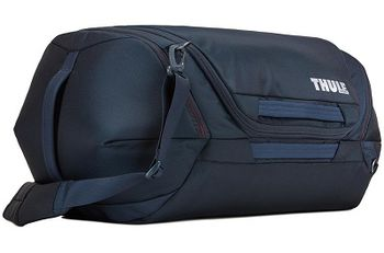 Travel Bag - THULE Subterra Duffel 60L, Mineral, 800D Nylon, Dimensions 34 x 37 x 65 cm, Weight 1.1 kg, Volume 60L, A sleek and spacious carry-on duffel with wide-mouth access to easily pack and organize your essentials.
