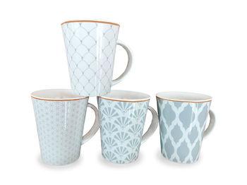 """Чашка 350ml, """"Серый узор"""", керамика"""