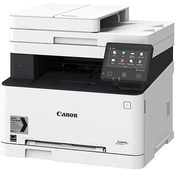 MFD Canon i-Sensys MF633CDW, Color Printer/Copier/Scanner,ADF(50-sheet),Duplex,Net,WiFi,USB-Host, A4,18ppm,1GB,1200x1200dpi, 52-163g/m2,Scan 9600x9600dpi,150+1-sheet tray,UFRII,PCL5c*,PCL6,Max.30k pages per month, Cart 045HBk/045Bk+045HC/M/Y/045C/M/Y