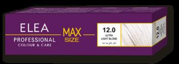 Краска для волос,SOLVEX Elea Max, 100 мл., 12.0 - Ультра светлый блонд