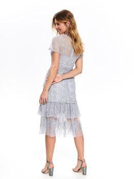 Платье TOP SECRET Серый ssu2721