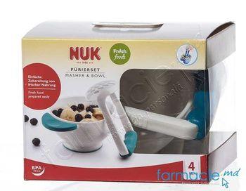 купить Tocator manual NUK cu castron (255180) в Кишинёве