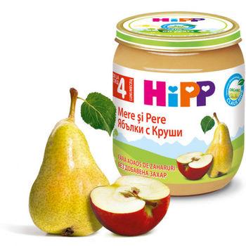 купить Hipp пюре из груши и яблок, 4+мес. 125г в Кишинёве
