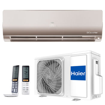Кондиционер HAIER FLEXIS DC INVERTER AS35S2SF1FA / 1U35S2SM1FA GOLD