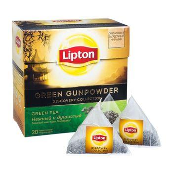 купить Lipton  Diamond Green Gunpowder  20 пак. в Кишинёве