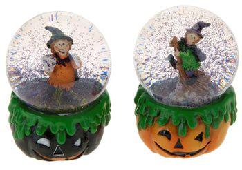 "Сувенир Ведьма в шаре""Halloween"" 6.5Х10сm"