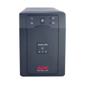 APC Smart-UPS SC 620VA 230V, Line-Interactive, user repl. batt., SmartBoost, SmartTrim, data line protection