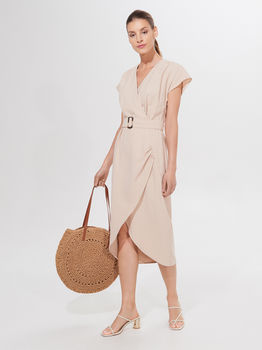 Платье MOHITO Бежевый yk623