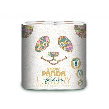 Туалетная бумага Panda Luxury 4 рулонов