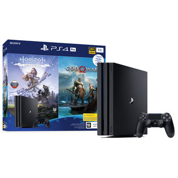 SONY PlayStation 4 PRO 1TB+ GOW + HZD