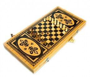 купить Essa Toys Шашки и шахматы и нарды 3 в 1 в Кишинёве