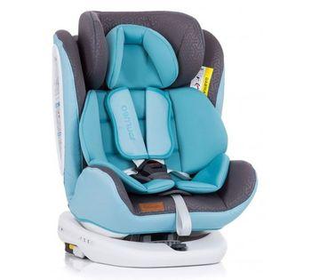 купить Поворотное автокресло с isofix Chipolino Tourneo 360° Blue (0-36 кг) в Кишинёве