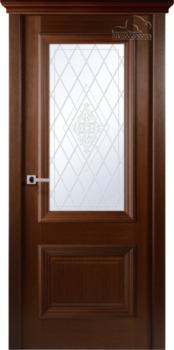 купить Дверь ФРАНЧЕСКО венге остекленная в Кишинёве