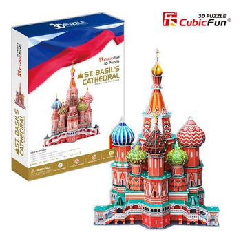 "CubicFun 3D пазл ""St.Basil's Cathedral""   (173 деталей)"