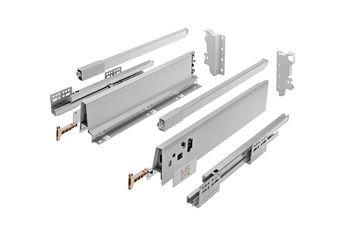 Modern Box Square gri L-400 H-146 deschidere totală cu amortizor